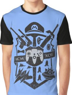 House of 64 Crest Graphic T-Shirt