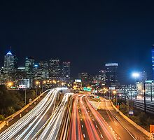 Schuylkill Expressway - Philadelphia, PA by Jason Heritage