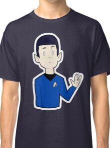 Live Long and Prosper (transparent) Classic T-Shirt