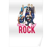 Ready Set Rock T-Shirt Poster