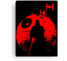 Death Star Dark Lord Canvas Print