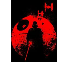 Death Star Dark Lord Photographic Print