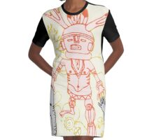 kachina prayers 2 Graphic T-Shirt Dress