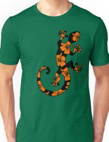 Gecko, lizard, Hawaii, aloha, surf, beach, summer, party, water sports Unisex T-Shirt