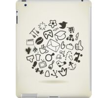 Abstract drawing iPad Case/Skin
