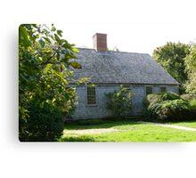 Martha's Vineyard Oldest House Canvas Print