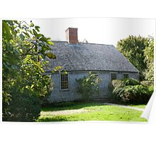 Martha's Vineyard Oldest House Poster