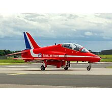 Red Ten Taxies in Photographic Print