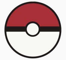 Pokemon - Pokeball RED WHITE Kids Tee