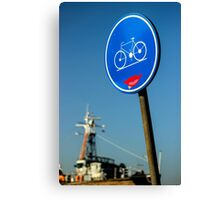 Kind Bicycle Path - Travel Photography Canvas Print