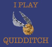 """I Play Quidditch"" by Mister Dalek and Co ."