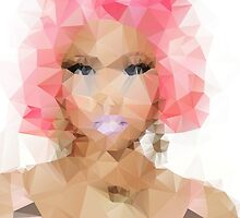 Nicki Minaj Polygon by destinyislands