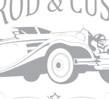 Voodoo - Hotrod Automotive Resurrection   Sticker