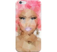 Nicki Minaj Polygon iPhone Case/Skin