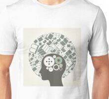 Book a head Unisex T-Shirt