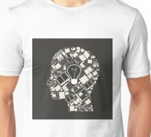 Book a head2 Unisex T-Shirt