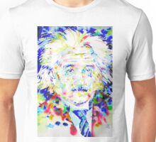 ALBERT EINSTEIN - watercolor portrait.1 Unisex T-Shirt