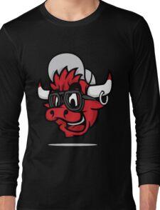 funny bulls Long Sleeve T-Shirt