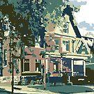 Cedarburg Art Museum - Cedarburg WI (muted) by katherinepaulin
