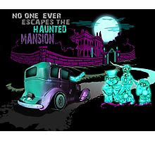 No Escaping the Haunted Mansion Photographic Print