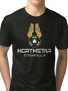 Titanfall 2 - Northstar (White) Tri-blend T-Shirt
