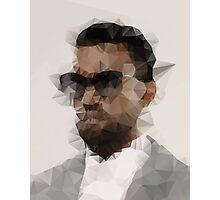 Kanye West Polygon Photographic Print
