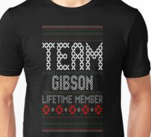 Team Gibson Lifetime Member Ugly Christmas Sweater T-Shirt Unisex T-Shirt