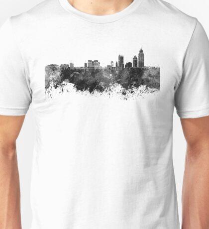 Mobile skyline in black watercolor Unisex T-Shirt