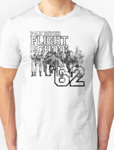 Pax River Flight School (Black) T-Shirt