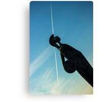Shot Soldier - Travel Photography Canvas Print