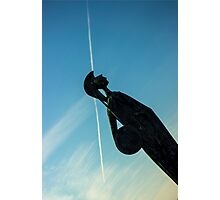 Shot Soldier - Travel Photography Photographic Print