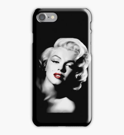 Marylin Monroe portrait picture iPhone Case/Skin
