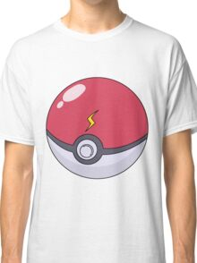 Pokemon Pikachu Pokeball Lightning bolt Classic T-Shirt