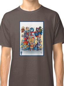 80's Cartoon Mashup Classic T-Shirt