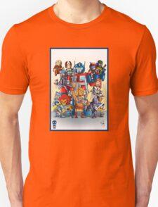 80's Cartoon Mashup T-Shirt