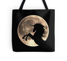 Unicorn, moon, fullmoon, fantasy, magic, horse, fantastic, beast Tote Bag