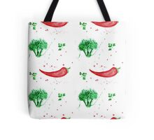 Watercolor vegetables design Tote Bag