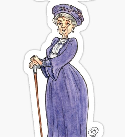 Lady Violet Sticker