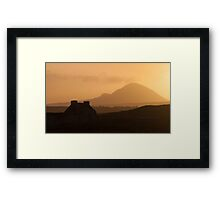 Errigal, Donegal Framed Print