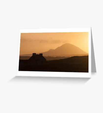 Errigal, Donegal Greeting Card
