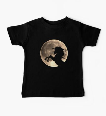 Unicorn, moon, fullmoon, fantasy, magic, horse, fantastic, beast Baby Tee