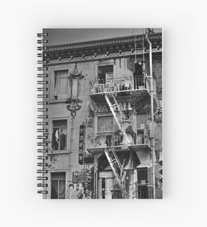 Chinese Laundry - B&W Spiral Notebook