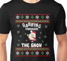 Dabbing Through The Snow T-Shirts- Funny X Max Gift For Kid Unisex T-Shirt