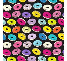 Donut Black Dreams by Everett Co Photographic Print
