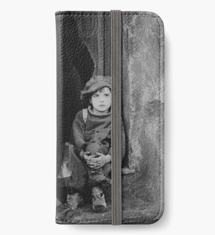 Charlie Chaplin portrait iPhone Wallet/Case/Skin
