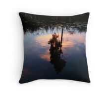 Sip of Serenity Throw Pillow