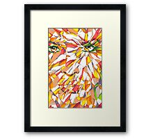 ESOTERIC V.01 - Abstract Face Framed Print