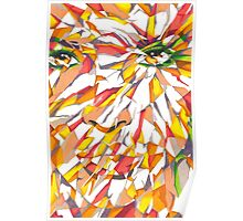 ESOTERIC V.01 - Abstract Face Poster