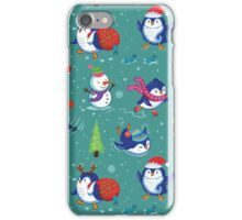Penguin Happy Time iPhone Case/Skin
