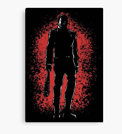 negan - Lucille Canvas Print